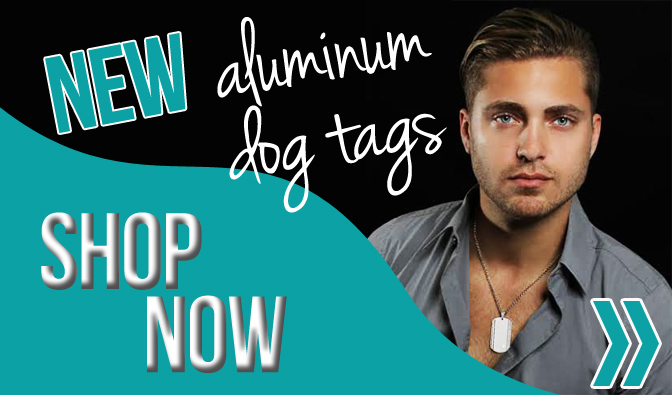 Shop our selection of Custom DogTags